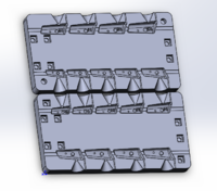 Форма для грузил чебурашка разборная Проходимец 6-22гр