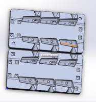Форма для грузил чебурашка разборная Проходимец 36-46гр