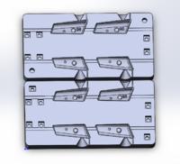 Форма для грузил чебурашка разборная Проходимец 50-60гр
