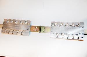 Форма для грузил чебурашка разборная Кегля 10-28гр