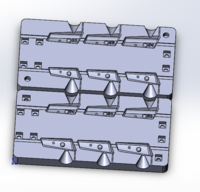 Форма для грузил чебурашка разборная Проходимец 24-34гр